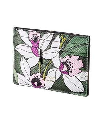 Tom Ford Printed Leather Cardholder