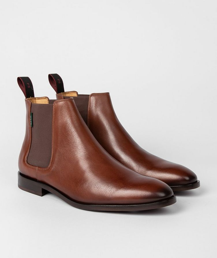 Gerald Leather Chelsea Boots image 0