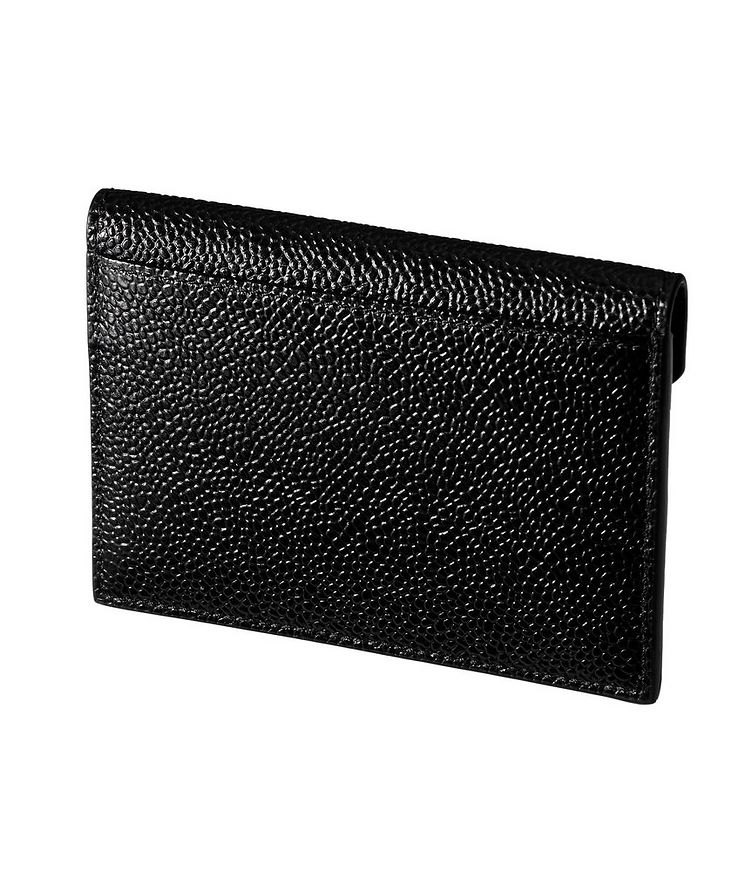 Porte-carte en cuir texturé image 1