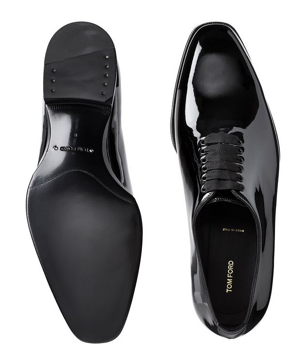 Elkan Patent Leather Whole-Cut Oxfords picture 3