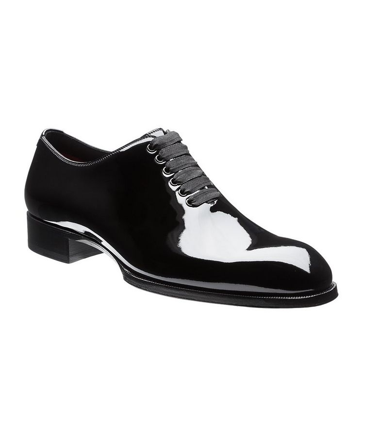 Elkan Patent Leather Whole-Cut Oxfords image 0