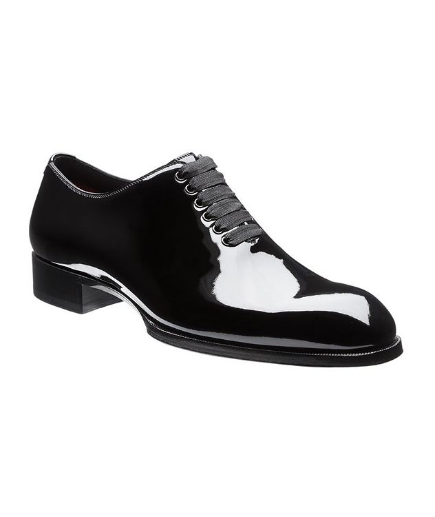 Elkan Patent Leather Whole-Cut Oxfords picture 1