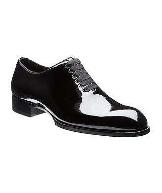 Tom Ford Elkan Patent Leather Whole-Cut Oxfords