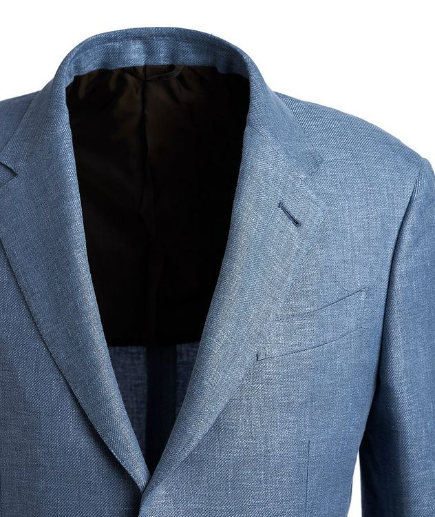 Linen, Wool, and Silk Sports Jacket picture 2