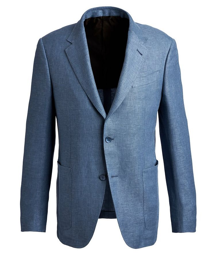 Linen, Wool, and Silk Sports Jacket image 0