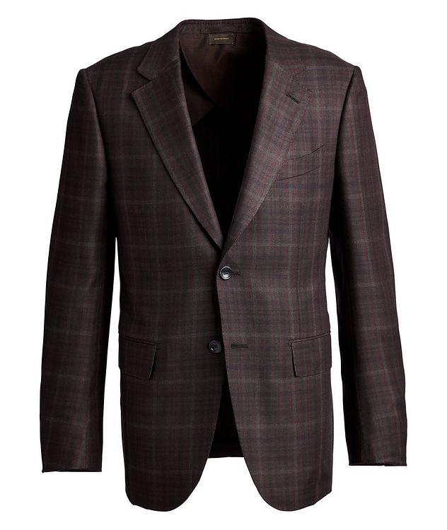 Couture Plaid Cashmere-Silk Sports Jacket picture 1