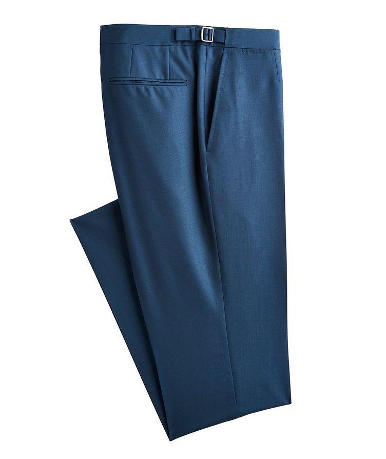 Slim-Fit Wool-Silk Dress Pants image 0