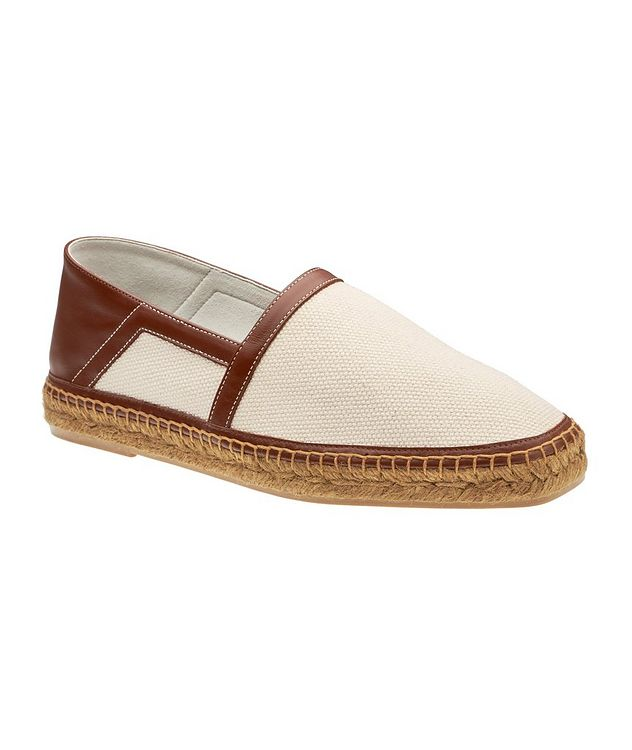 Barnes Canvas and Leather Espadrilles picture 1