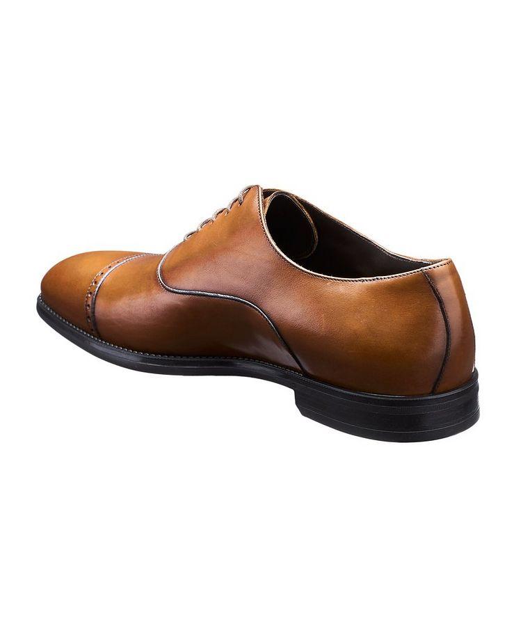 Cap-Toe Leather Oxfords image 1