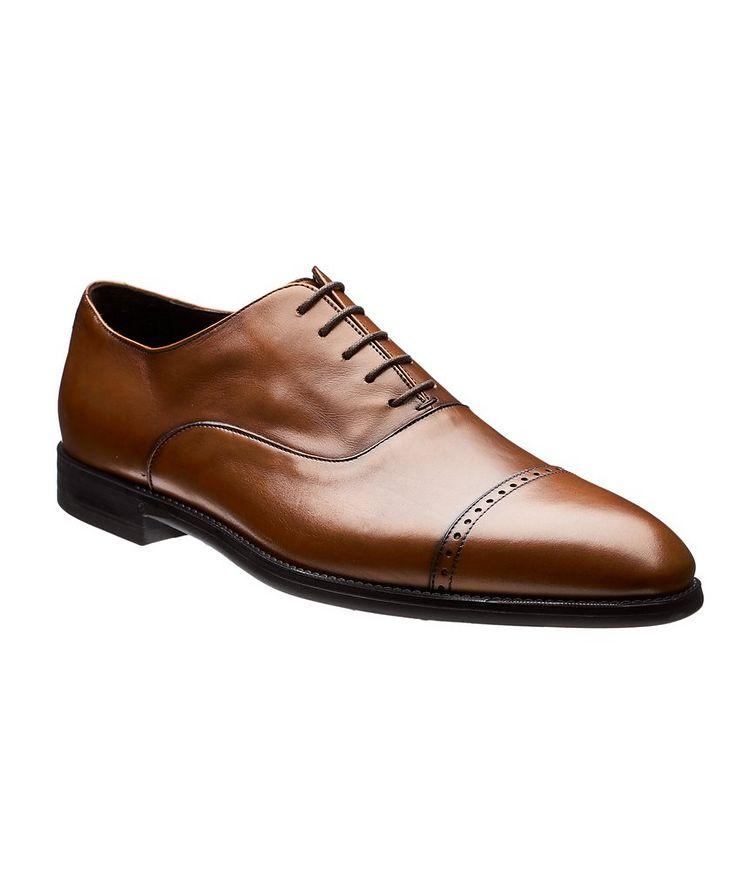 Cap-Toe Leather Oxfords image 0
