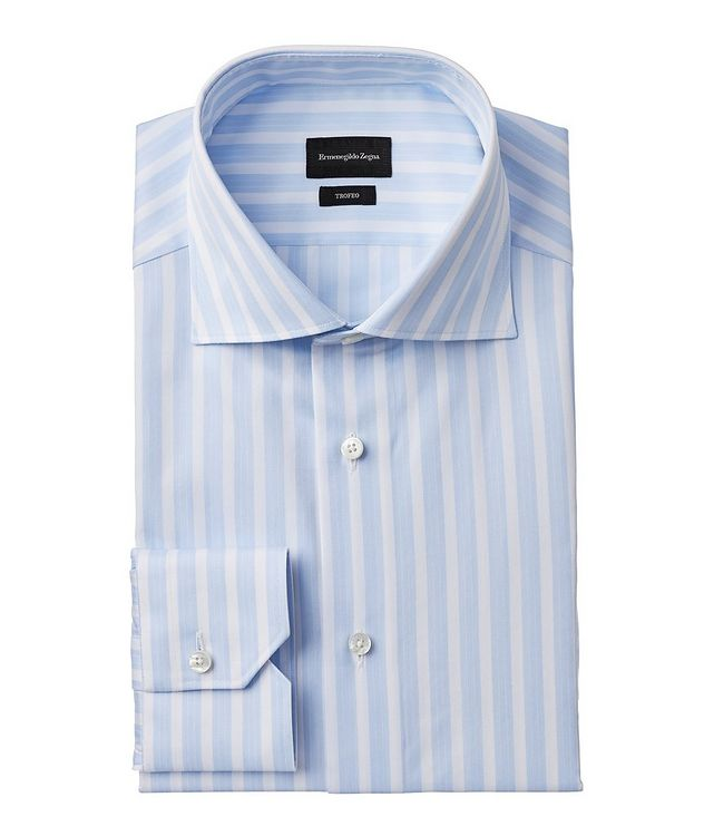 Slim-Fit Striped Trofeo Dress Shirt picture 1
