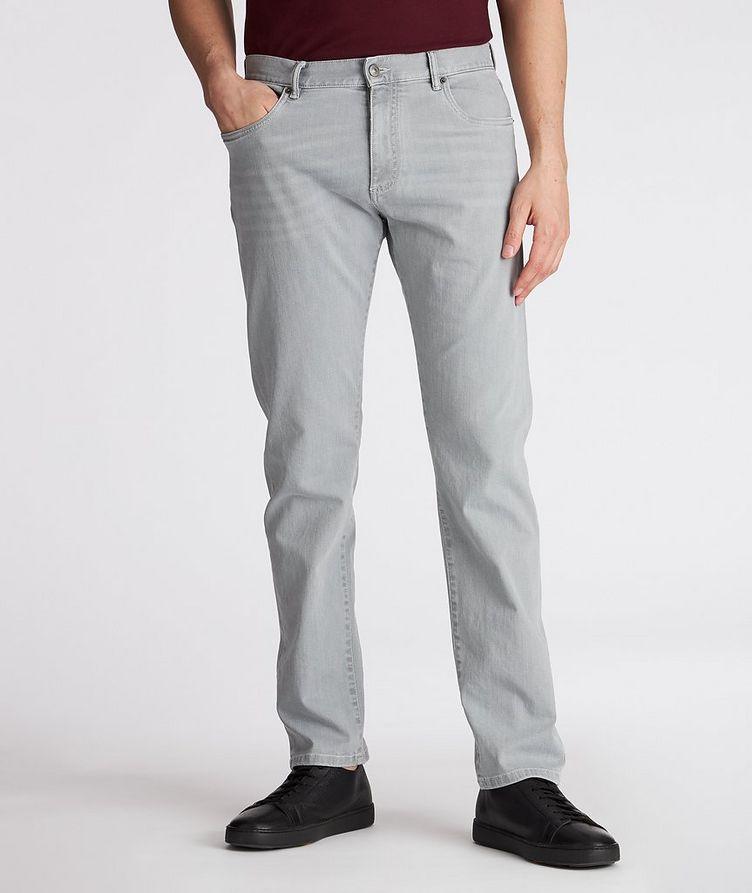 Slim-Fit Stretch-Cotton Pants image 1