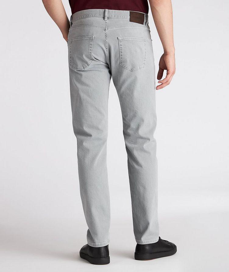 Slim-Fit Stretch-Cotton Pants image 2