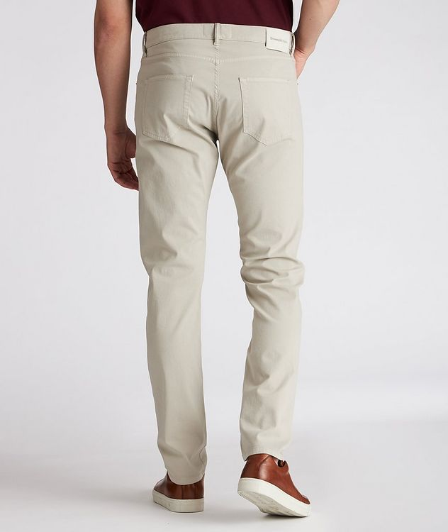 Straight-Fit Stretch-Cotton Jeans picture 3