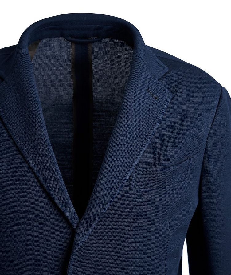 Unstructured 15MilMil15 Wool-Jersey Sports Jacket image 1