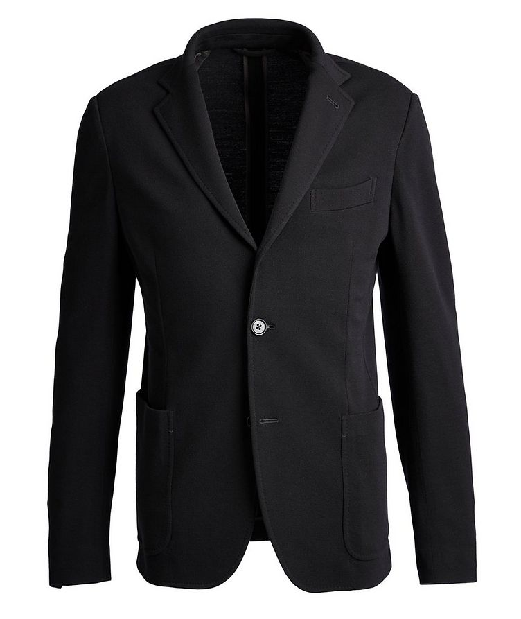 Unstructured 15MilMil15 Wool-Jersey Sports Jacket image 0