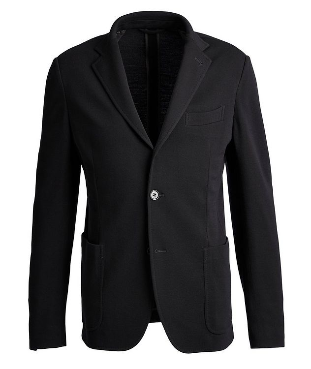 Unstructured 15MilMil15 Wool-Jersey Sports Jacket picture 1