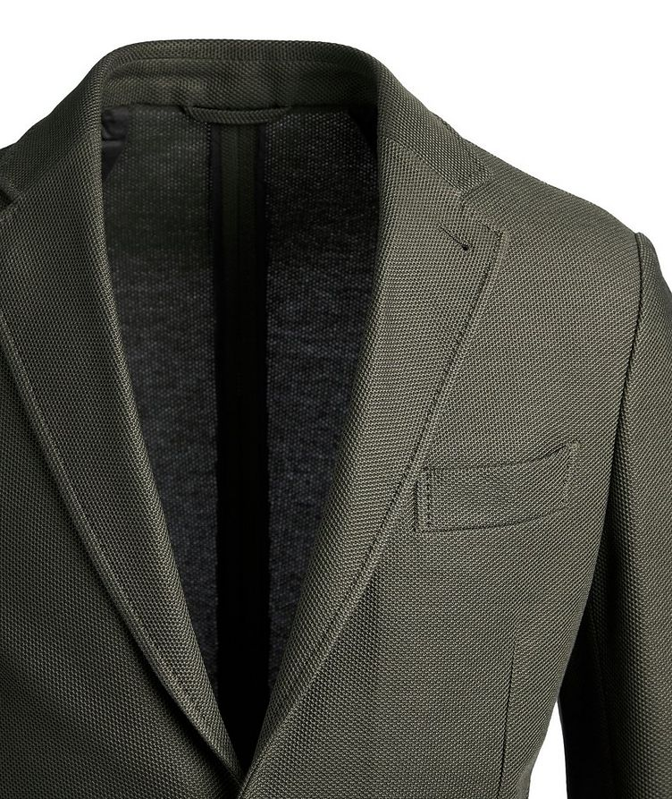 Unstructured Jersey Sports Jacket image 1