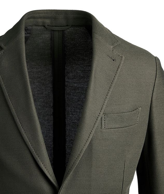 Unstructured Jersey Sports Jacket picture 2