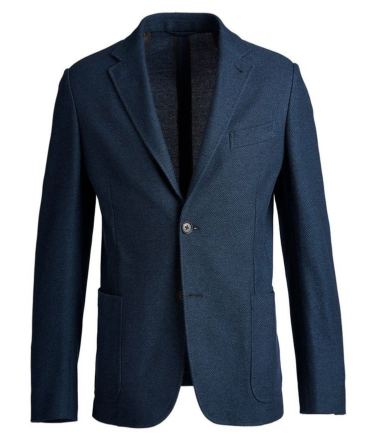 Unstructured Jersey Sports Jacket image 0