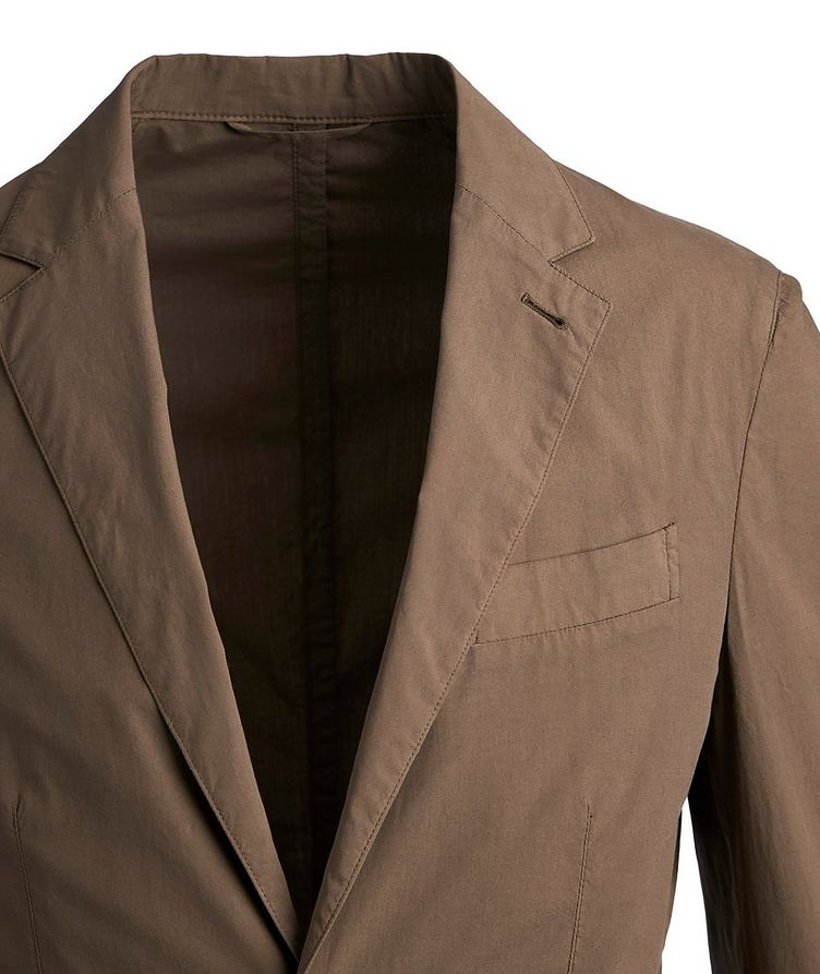 Stretch-Cotton Sports Jacket image 1