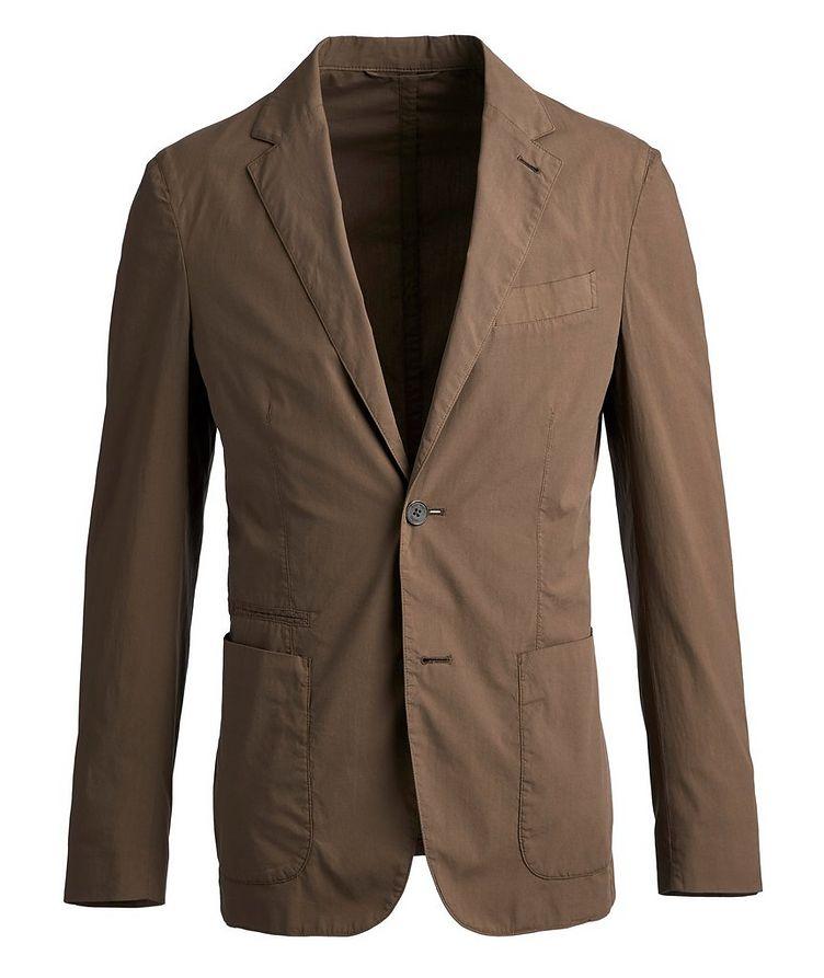 Stretch-Cotton Sports Jacket image 0