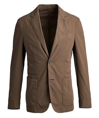 Ermenegildo Zegna Stretch-Cotton Sports Jacket