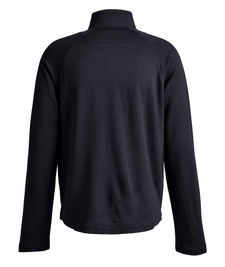 Techmerino Zip-Up Sweater image 1