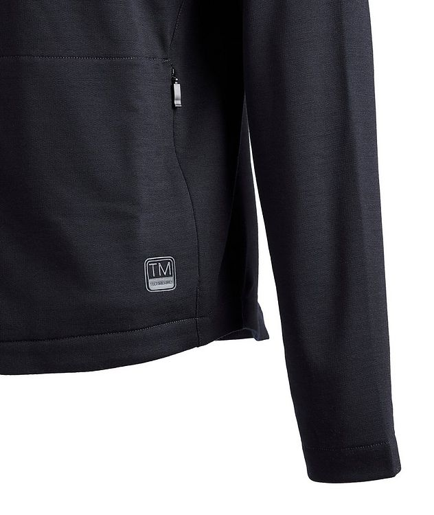 Techmerino Zip-Up Sweater picture 4