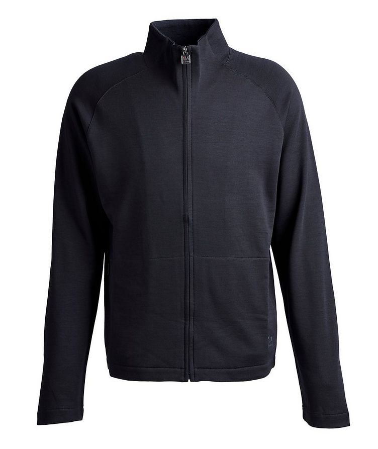 Techmerino Zip-Up Sweater image 0