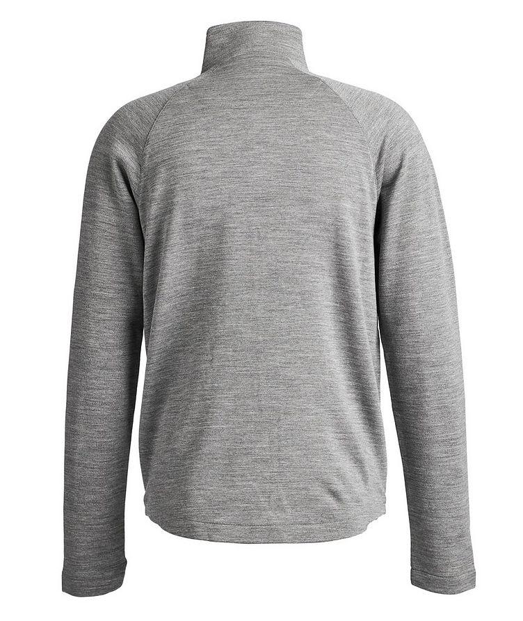 Techmerino Zip-Up Sweater image 1