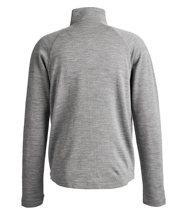 Techmerino Zip-Up Sweater picture 2