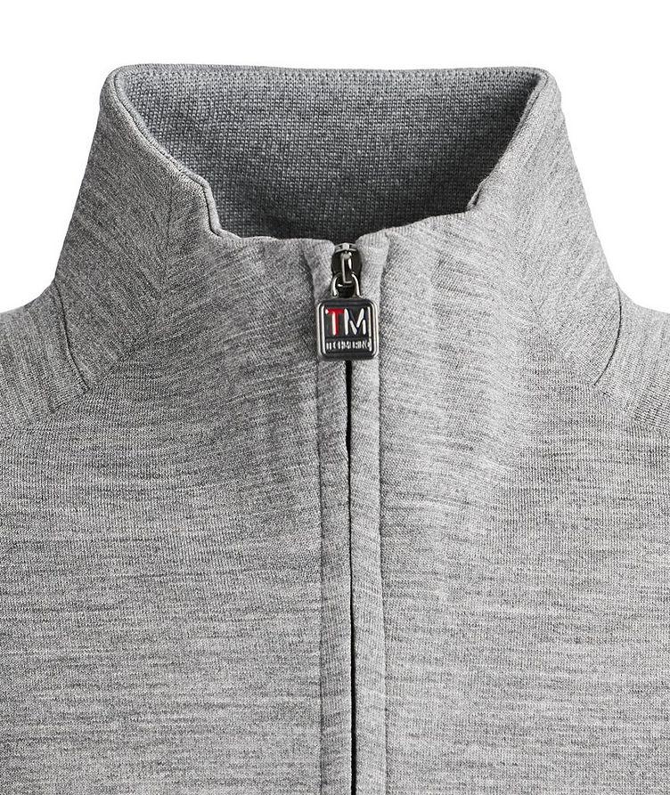 Techmerino Zip-Up Sweater image 2