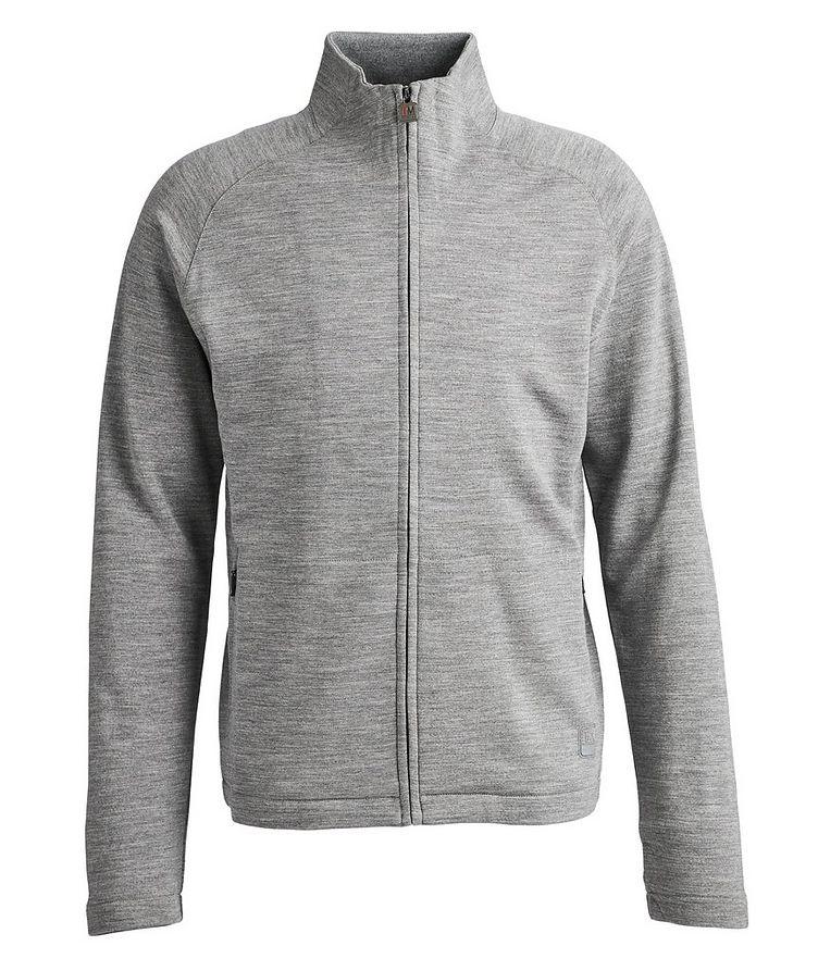 Techmerino Zip-Up Sweater image 0