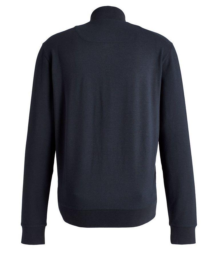 Zip-Up Cotton-Modal Track Jacket image 1