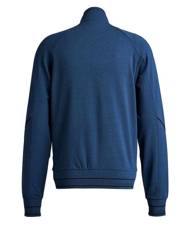 Cotton-Modal Full-Zip Track Top image 1