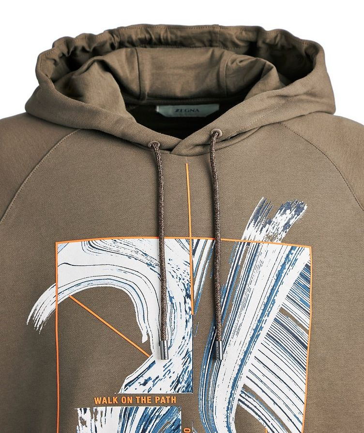 Graphic Cotton Hoodie image 2
