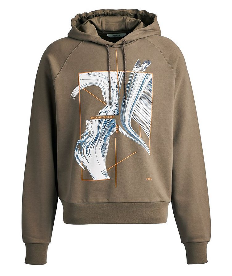 Graphic Cotton Hoodie image 0