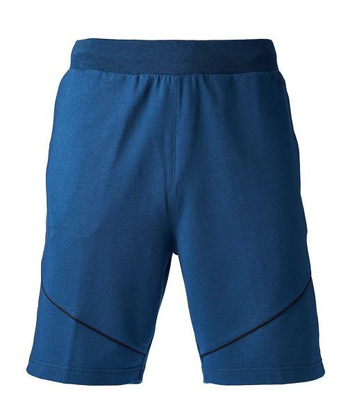 Z Zegna Stretch-Jersey Shorts