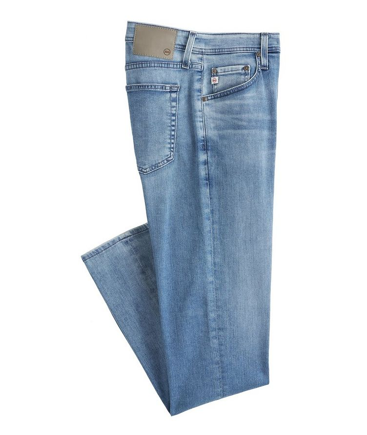 The Tellis Slim-Fit Airluxe Stretch-Cotton Jeans image 0