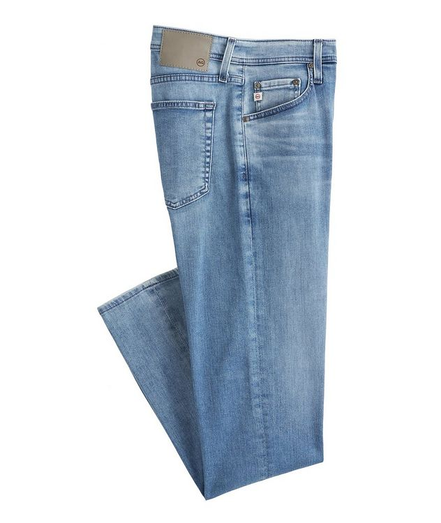 The Tellis Slim-Fit Airluxe Stretch-Cotton Jeans picture 1