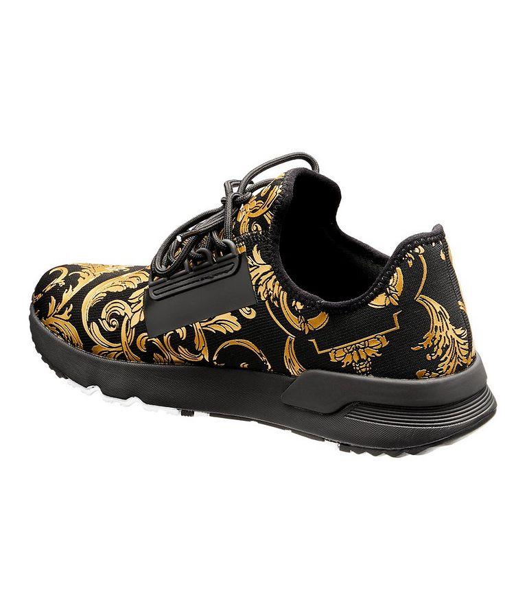 Aerodynamic Baroque Knit Sneakers image 1