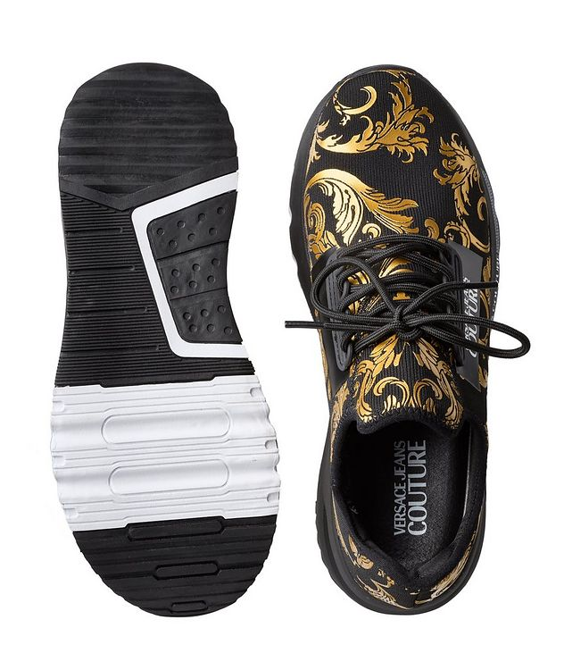 Aerodynamic Baroque Knit Sneakers picture 3