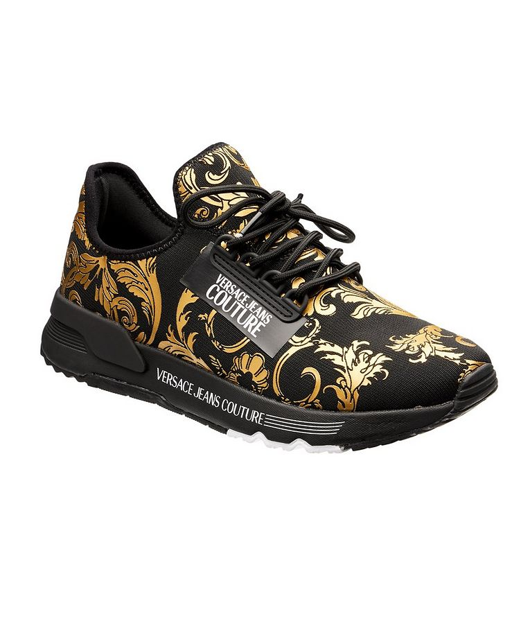 Aerodynamic Baroque Knit Sneakers image 0