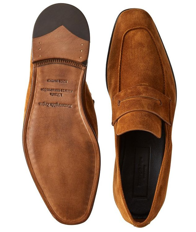 L'Asola Suede Loafers picture 3