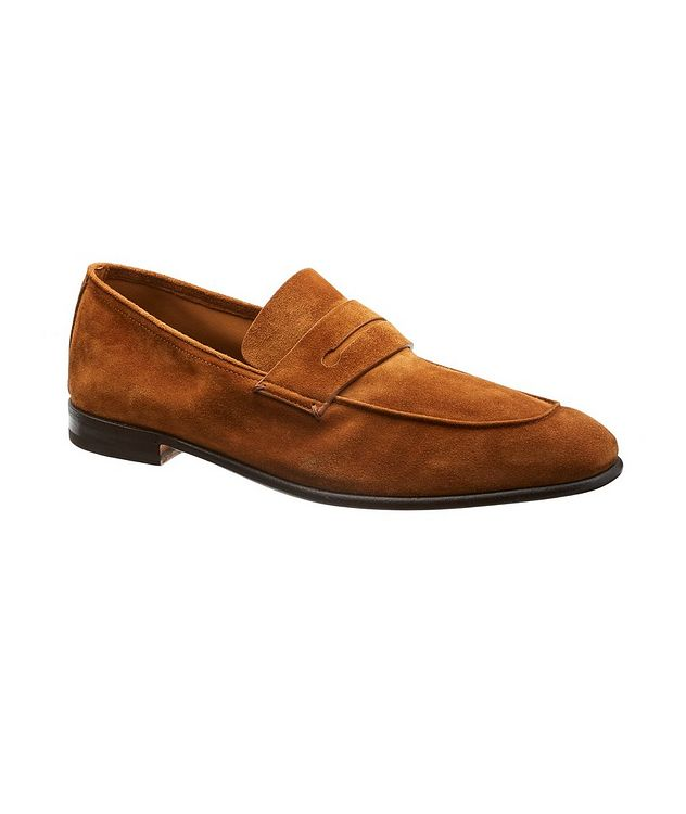 L'Asola Suede Loafers picture 1