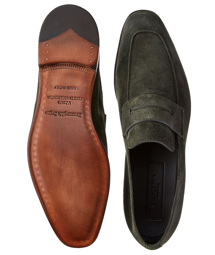 L'Asola Suede Loafers image 2