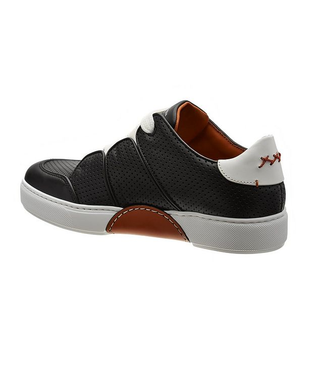 Couture Tiziano Perforated Calfskin Sneakers picture 2