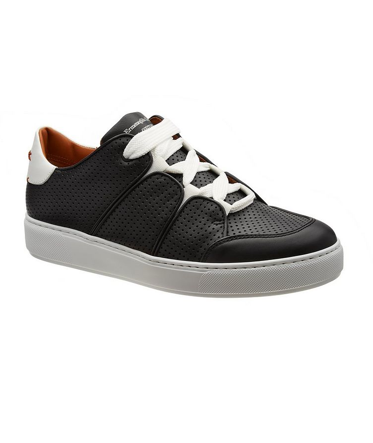 Couture Tiziano Perforated Calfskin Sneakers image 0