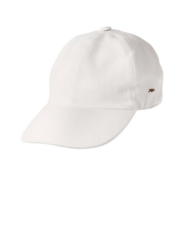 Couture Piqué Cotton Baseball Cap picture 1